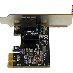 StarTech.com 1 Port PCI Express PCIe Gigabit NIC Server Adapter Network Card- Low Profile PCI Express Gigabit LAN Card - P