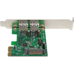 StarTech.com 2 Port PCI Express (PCIe) SuperSpeed USB 3.0 Card Adapter with UASP - SATA Power - Dual Port USB 3 PCIe Contr