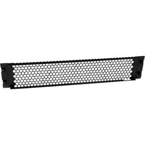 StarTech.com Blanking Panel - 2U - Vented - 48cm - Tool-less - Steel - Black - TAA Compliant - Blank Rack Panel - Filler P