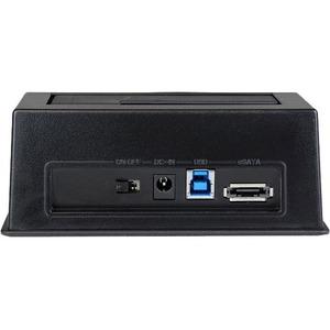 StarTech.com Docking Station USB 3.0 SATA III/eSATA per Hard Disk SSD/HDD con UASP - 1 x Disco rigido supportato - 1 x SSD