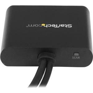 StarTech.com Mini DisplayPort to DisplayPort Multi Monitor Splitter - 2-Port MST Hub - mDP 1.2 to 2x DP MST Hub - 30 Hz to