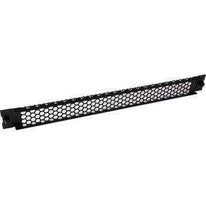 StarTech.com Blanking Panel - 1U - Vented - 19in - Tool-less - Steel - Black - TAA Compliant - Blank Rack Panel - Filler P