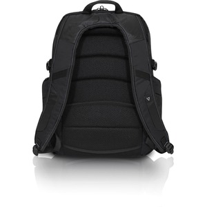 "V7 Elite Carrying Case (Backpack) for 39.6 cm (15.6"") Notebook - Black - Water Resistant - Shoulder Strap"