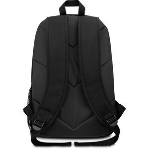 """V7 Essential CBK1-BLK-9N Carrying Case (Backpack) for 15.6"""" Notebook - Black - Polyester - Shoulder Strap - 18.25"""" (463.55"""