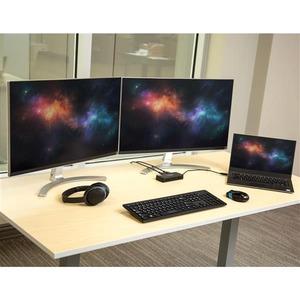 StarTech.com USB 3.0 Mini Dock - Dual Monitor USB Type-A Laptop Docking Station - DisplayPort 4K 60Hz & Gigabit Ethernet -