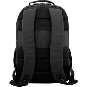 "V7 PROFESSIONAL CBP16-BLK-9N Carrying Case (Backpack) for 15.6"" Notebook - Black - Weather Resistant - 600D Polyester, 210"