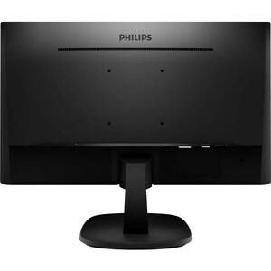 "Monitor LCD Philips V-line 273V7QDAB 68,6 cm (27"") Full HD WLED - 16:9 - Negro Texturado - 685,80 mm Class - 1920 x 1080 -"