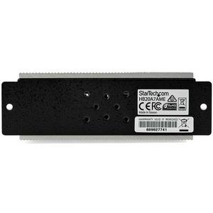 StarTech.com Hub Concentrador USB 2.0 de 7 Puertos Industrial - Con protección de 15kV contra Descargas - 7 Total USB Port