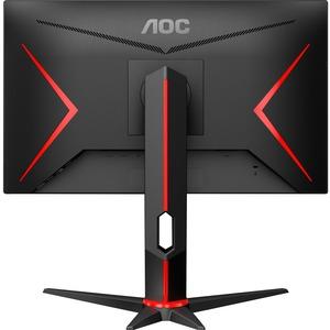 "Monitor de juego LCD AOC 24G2U5 60,5 cm (23,8"") Full HD WLED - 16:9 - Negro - 609,60 mm Class - Tecnología de Conmutación"