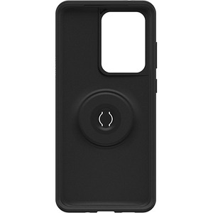 OtterBox Otter + Pop Symmetry Case for Samsung Galaxy S20 Ultra Smartphone - Black - Drop Resistant, Bump Resistant - Poly