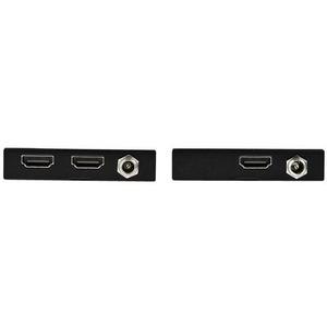 StarTech.com Video Extender Transmitter/Receiver - Wired - Black - 1 Input Device - 1 Output Device - 50 m Range - 2 x Net