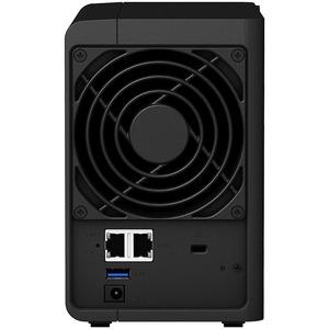 Synology DiskStation DS220+ 2 x Total Bays SAN/NAS Storage System - Intel Celeron Dual-core (2 Core) 2 GHz - 2 GB RAM - DD