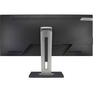 """Viewsonic VG3456 86.4 cm (34"""") WQHD LED LCD Monitor - 21:9 - Black - 863.60 mm Class - MVA technology - 3440 x 1440 - 1.07"""