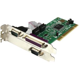 StarTech.com Parallel/serial combo card - PCI - parallel, serial - 3 ports - PCI - 1 x Number of Parallel Ports External -