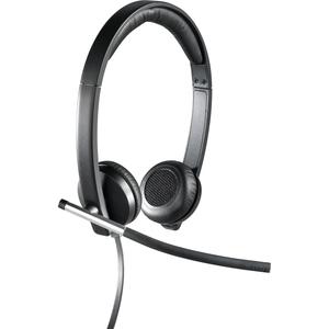 Cuffie Logitech H650e Cavo Over-the-head - Binaural - Supra-aural - 50 Hz a 10 kHz - Cancellazione del rumore Microfono - USB