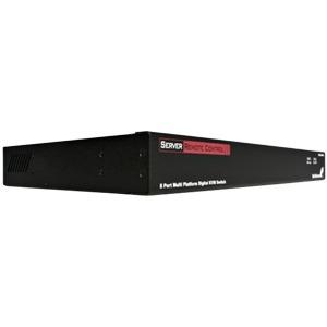8-Port IP KVM Switch - Rackmount USB PS/2 Digital IP KVM Switch - 1U (SV841HDIE)