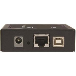 StarTech.com Extensor VGA por IP - Alargador 1920x1200 - con Concentrador USB de 2 Puertos - 1 Ordenador(es) - 100 m Alcan