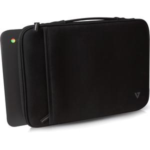 """V7 Elite Carrying Case (Sleeve) for 33.8 cm (13.3"""") Chromebook - Black"""
