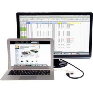 StarTech.com 14.99 cm HDMI/Mini DisplayPort/VGA A/V Cable for Audio/Video Device, Ultrabook, MacBook Pro, MacBook Air, MAC