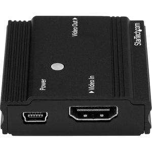 StarTech.com Amplificador de Señal HDMI - Extensor Alargador HDMI 4K a 60Hz - Hasta 9 Metros con Cable Convencional - 3840