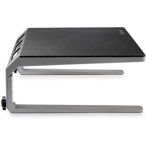 """StarTech.com Monitor Riser Stand - For up to 32"""" Monitor - Height Adjustable - Computer Monitor Riser - Steel and Aluminum"""