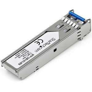 StarTech.com Dell EMC SFP-1G-BX40-U Compatible SFP Module - 1000BASE-BX-U - 10 GbE Gigabit Ethernet BiDi Fiber (SMF) - Del