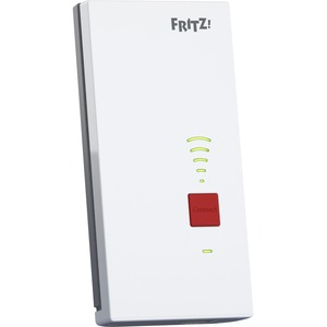 FRITZ! FRITZ!Repeater 2400 IEEE 802.11ac 2.28 Gbit/s Wireless Range Extender - 2.40 GHz, 5 GHz - 1 x Network (RJ-45) - Gig