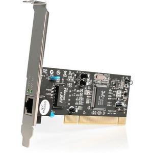 StarTech.com 1 Port PCI 10/100/1000 32 Bit Gigabit Ethernet Network Adapter Card (ST1000BT32) - Add a 10/100/1000Mbps Ethe
