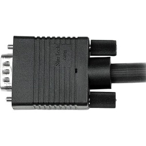 Black HD15 to HD15 M//M StarTech.com MXTMMHQ5M 5m Coax High Resolution Monitor VGA Video Cable