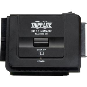 "Tripp Lite USB 3.0 SuperSpeed to SATA//IDE Adapter 2.5//3.5//5.25/"" Hard Drives"