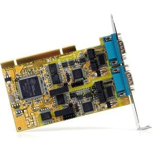 Adaptador Serial StarTech.com PCI2S232485I Tarjeta Plug-in - 1 Paquete(s) - Conforme con normas TAA - PCI universal - PC -