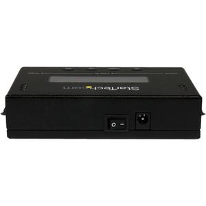 StarTech.com Duplicador Clonador Autónomo Externo de Discos Duros HDD SATA de 14GBpm - Borrador Sanitizer
