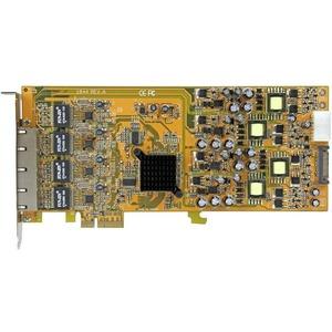 Tarjeta PCI Express de Red Ethernet Gigabit con 4 Puertos RJ45 PoE Power over Ethernet StarTech.com ST4000PEXPSE
