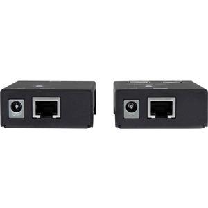 StarTech.com Extensor Alargador USB 2.0 de 4 puertos por cable Cat5 o Cat6 - Hasta 50 metros - 4 x USB - 50,29 m Alcance e