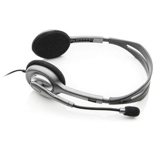 Cuffie Logitech H111 Cavo Over-the-head Stereo - Nero - Binaural - Supra-aural - 32 Ohm - 20 Hz a 20 kHz - 180 cm Cavo - N