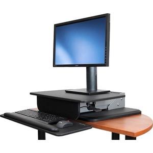 StarTech.com Height Adjustable Standing Desk Converter - Sit Stand Desk with One-finger Adjustment - Ergonomic Desk - 30.5