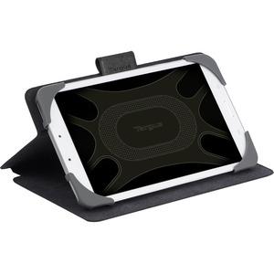 "Borsa rigida per il trasporto Targus SafeFit THZ643GL per 20,3 cm (8"") Apple iPad Tablet - Nero - Interni resistenti ai gr"