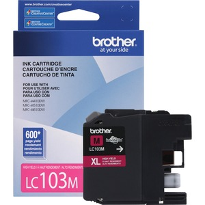Brother Innobella Original Ink Cartridge - Inkjet - High Yield - 600 Pages - Magenta