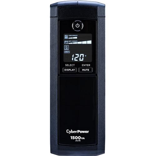 CyberPower UPS Systems CP1500AVRLCD Intelligent LCD -  Capacity: 1500 VA / 900 W - 1500VA/900W Line Interactive UPS, Mini-