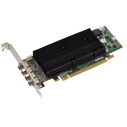 Matrox Matrox M9148 Graphic Card - 1 GB - Low-profile - 2560 x 1600 Maximum Resolution - PCI Express x16 - DisplayPort - DVI