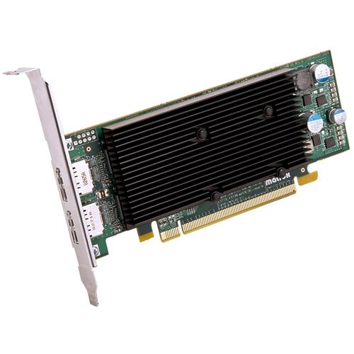 Matrox Matrox M9128 Graphic Card - 1 GB DDR2 SDRAM - Low-profile - 2560 x 1600 Maximum Resolution - PCI Express x16 - Disp