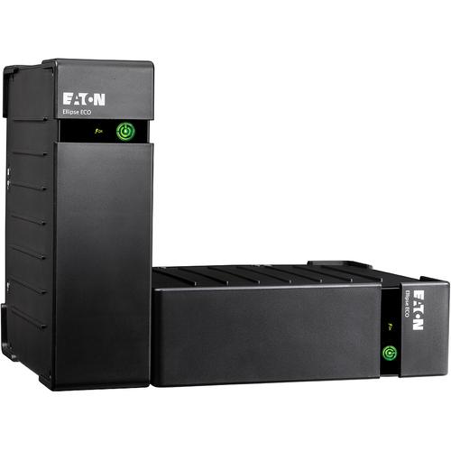 Eaton Ellipse EL800USBDIN Standby UPS - 800 VA/500 W - 2U Rack/Tower - 220 V AC Input - 240 V AC Output - 3 x Schuko, 1 x