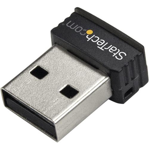 StarTech.com Adaptador de Red N Inalámbrico Mini USB 150Mbps - 802.11n/g 1T1R - USB - 150 Mbit/s - 2,40 GHz ISM - Externo