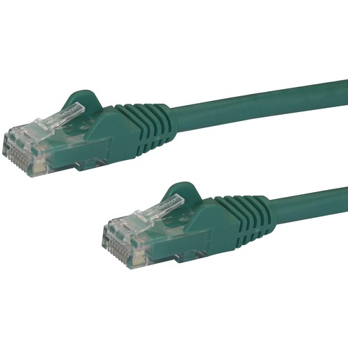 StarTech.com 75 ft Green Snagless Cat6 UTP Patch Cable - Category 6 - 75 ft - 1 x RJ-45 Male Network - 1 x RJ-45 Male Netw