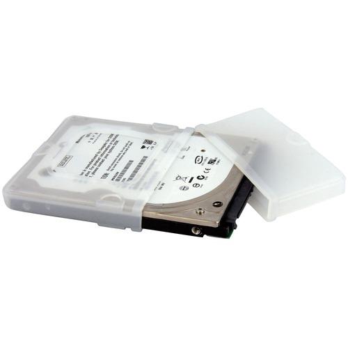 StarTech.com Custodia protettiva in silicone per disco rigido laptop con estremità per connessione 2,5'' - Resistente ai c