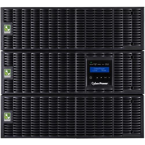 CyberPower Smart App Online OL8000RT3UTF 8000VA TF 120V, 200-240V Pure Sine Wave LCD UPS - 8U Rack/Tower - 4 Hour Recharge