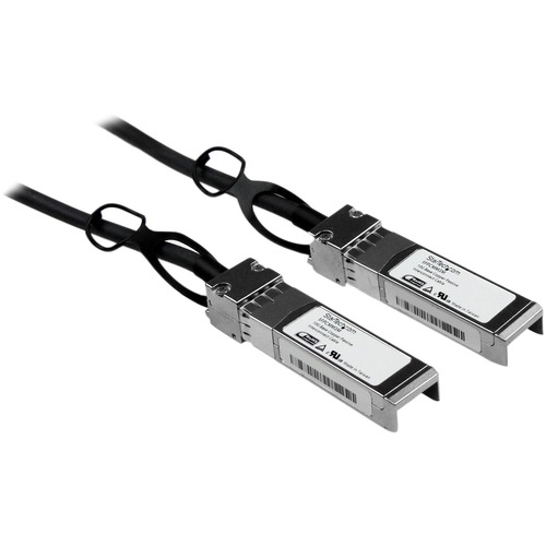 StarTech.com Cisco SFP-H10GB-CU3M Compatible - 3m - 10 Gigabit Ethernet - Twinax Cable - Copper SFP+ Cable - 10gBase-CU SF