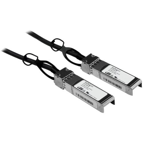 StarTech.com Cisco SFP-H10GB-CU1M Compatible - 1m - 10 Gigabit Ethernet - Twinax Cable - Copper SFP+ Cable - 10gBase-CU SF