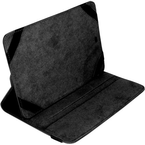 """Borsa rigida per il trasporto Urban Factory Infinite (Folio) per 15,2 cm (6"""") a 20,3 cm (8"""") Tablet PC - Nero - Finta pell"""