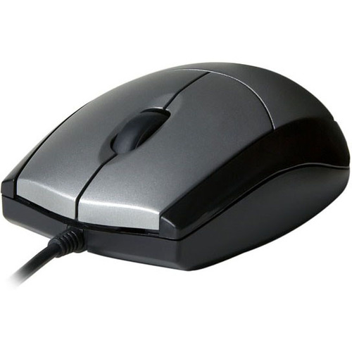 V7 Mouse - USB - Optical - 3 Button(s) - Cable - 1000 dpi - Scroll Wheel